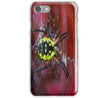Banana Spider iPhone Case/Skin