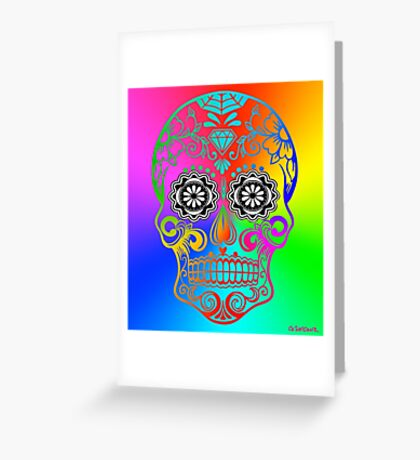 Sugar Skull - Calavera Greeting Card