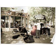 Parisian musicians Poster