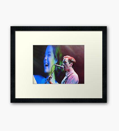 Do You Like Rock Music? Framed Print