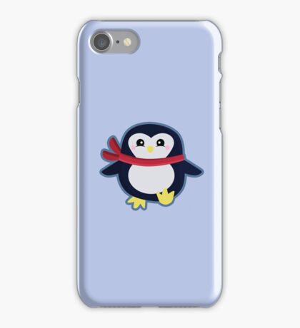 Kawaii Penguin iPhone Case/Skin