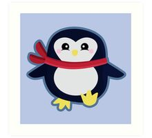 Kawaii Penguin Art Print