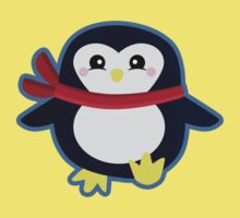 Kawaii Penguin Kids Tee