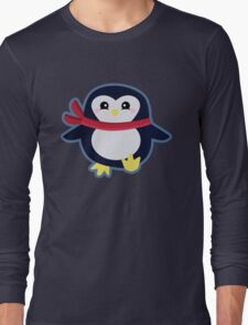 Kawaii Penguin Long Sleeve T-Shirt