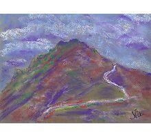 Storm Headed East (pastel) Photographic Print
