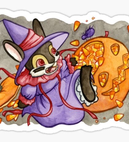 October Jackalope Sticker