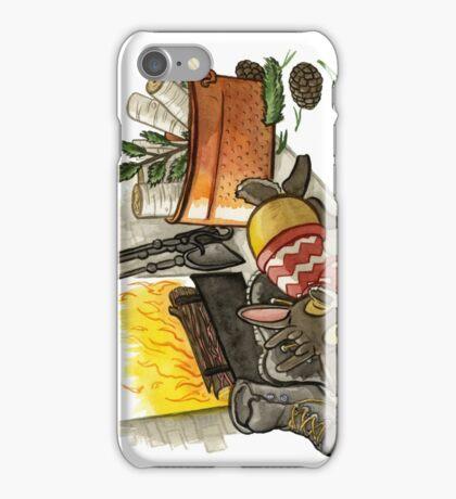 December Jackalope iPhone Case/Skin