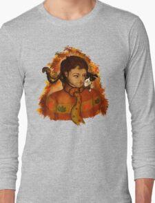 Autumnal Castiel / Meta!Misha with Cat T-Shirt