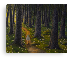 Forest of stars Canvas Print