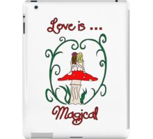 Love is Magical iPad Case/Skin