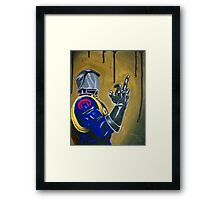 Cobra Commander Framed Print
