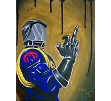 Cobra Commander Photographic Print