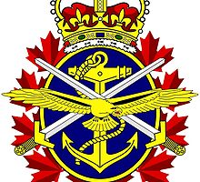 Canadian Forces (CF) Logo by Spacestuffplus