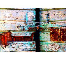 The Essence of Croatia - There's Something Behind Closed Doors Photographic Print
