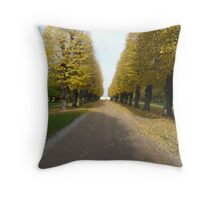 Yellow Giants & Pure Presence Throw Pillow