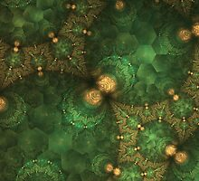 Gold Emerald by James Brotherton