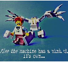 Flee the machine has a mind of it's own!! by TimConstable