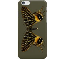 Black Butterfly iPhone Case/Skin