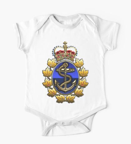 Canadian Forces Naval Operations Logo One Piece - Short Sleeve