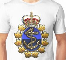 Canadian Forces Naval Operations Logo Unisex T-Shirt