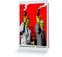 ASSASSINATION USA Greeting Card