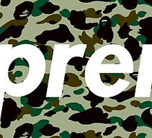 A Bathing Ape x Supreme by ONLYFLY
