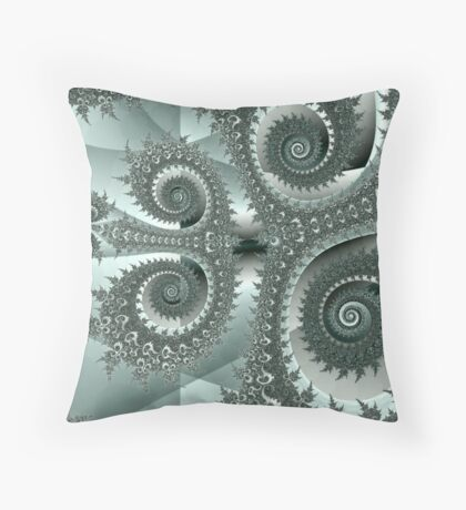 Silver Years Throw Pillow