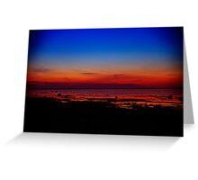 Hiiumaa. Sunset. Greeting Card