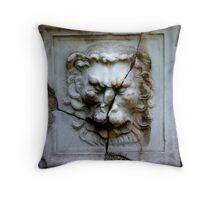 Lion Plate Throw Pillow
