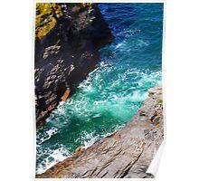 Sea n Cliffs Poster