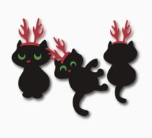 Christmas kittens Tee Kids Clothes