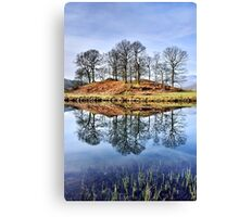 River Brathay Reflections - The Lake District Canvas Print