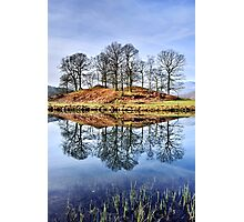 River Brathay Reflections - The Lake District Photographic Print