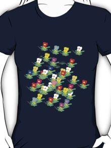 MINI MULTI FLOWERS TEE/BABY GROW T-Shirt