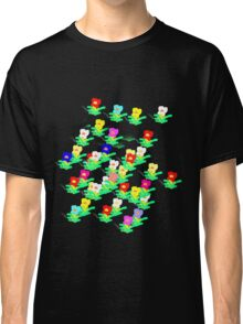 MINI MULTI FLOWERS TEE/BABY GROW Classic T-Shirt