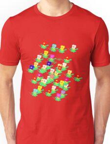 MINI MULTI FLOWERS TEE/BABY GROW Unisex T-Shirt