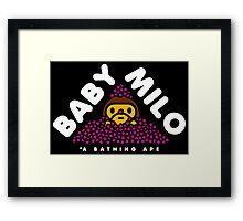 Baby Milo Framed Print