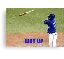 Jose Bautista Canvas Print