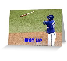 Jose Bautista Greeting Card