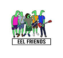 Eel Friends 3 Photographic Print