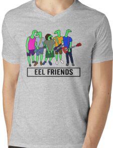 Eel Friends 3 Mens V-Neck T-Shirt