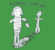 Mummie I Love You Kids Clothes