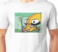 Octopus with a Toothbrush Unisex T-Shirt