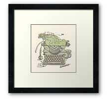 A Certain Type of City Framed Print