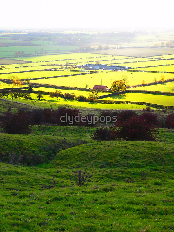Autumn across the Vale of York by clydeypops