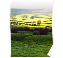 Autumn across the Vale of York Poster