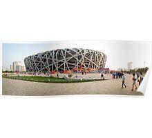 Beijing National Olympic Stadium Poster