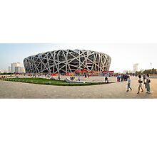 Beijing National Olympic Stadium Photographic Print