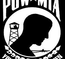 POW-MIA for Dark Backgrounds by Spacestuffplus