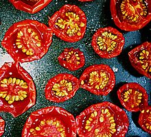 Fried Red Tomato by redcow